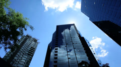 Modern Urban office Skyscraper, USA - stock footage