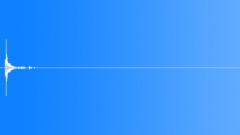Glass Shard, Drop On Concrete Floor, 04 - sound effect