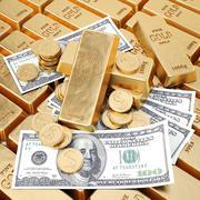 bullion - stock illustration