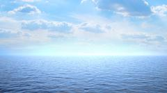 seascape - stock illustration