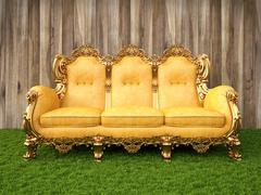 sofa - stock illustration