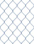 fence - stock illustration