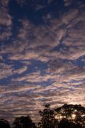 Big sky sunrise Stock Photos