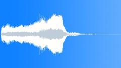 Sudden train air horn - sound effect