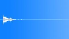 Glass Shard, Drop On Concrete Floor, 01 - sound effect
