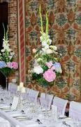 Flower arrangements Stock Photos