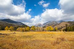 Colorado in Fall - stock photo