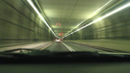 Stock Video Footage of Driving in a tunnel