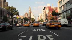 Car Mount Lower East Side NYC Stock Footage