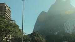 City of Rio de Janeiro - Pedra da Gavea - stock footage