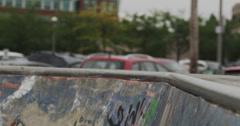 Ultra High Definition 4K - Extreme Sport - BMX Peg Stall Close Up - stock footage