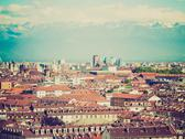Stock Photo of retro look turin, italy