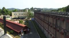 The prison Port Blair Stock Footage