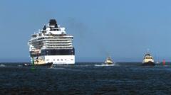Cruise Ship Millenium 6 Stock Footage