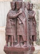 Tetrarch statue in venice Stock Photos