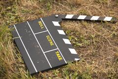 Movie clapper Stock Photos
