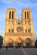 The cathedral of notre dame in paris Stock Photos