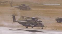 Super Stallions Takeoff - 01 Stock Footage