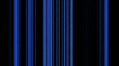 Vertical Blue Lines on Black Stock Footage