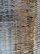 cooling tower fin - stock photo