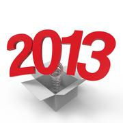 2013 Stock Illustration