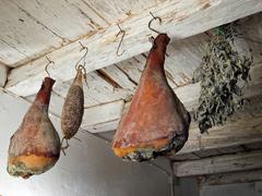 dried delicatessen - stock photo