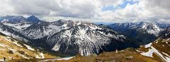 Stock Photo of carpathian mountains from kasprowy, poland