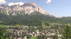 Italy - Cortina d'Ampezzo Stock Footage