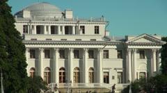 Elagin Palace Stock Footage