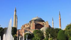 Hagia Sophia. Zoom-in, High Definition, 1080p Video Stock Footage