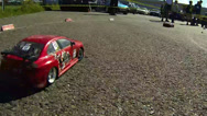 Stock Video Footage of Racing RC cars
