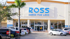 Ross Department Store Stock Footage