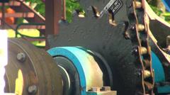 Lifting mechanism Stock Footage