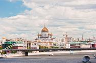 Stock Photo of moscow. view of the cathedral of christ the savior