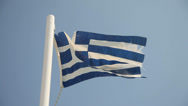 Stock Video Footage of Flag of Greece