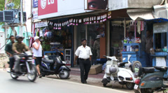 Port Blair South Andaman island Stock Footage