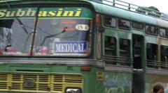 Bus Port Blair Stock Footage