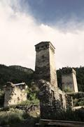 Stock Photo of Ancient tower