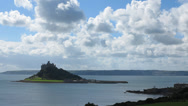 Stock Video Footage of St Michals Mount timelapse, Cornwall England.