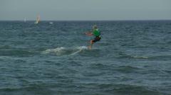 Kitesurf Stock Footage