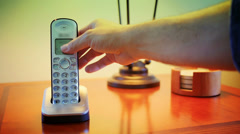 Home Phone 3587 Stock Footage