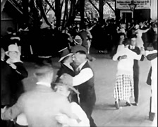 1917 - Dancing Event Stock Footage