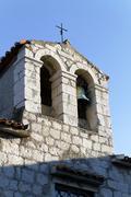 de dominis bbust church, rab, croatia - stock photo