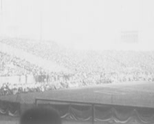 1918 - Football Match USA Stock Footage