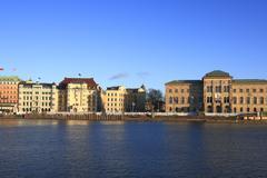 stockholm - stock photo