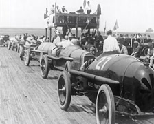 1920 - Car Race Scenes 04 Stock Footage