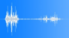 Smash on gravel ground - sound effect