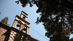 Church, Greece, Crete Stock Footage