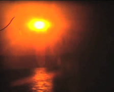 SUPER8 GREECE abstract sunset  - 1978 Stock Footage