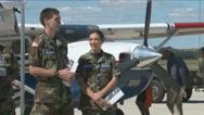 Stock Video Footage of Civil Air Patrol Cadets